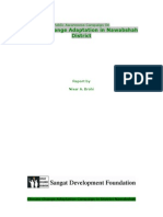 Sangat Sindh Report on Climate Change Adaptation 3