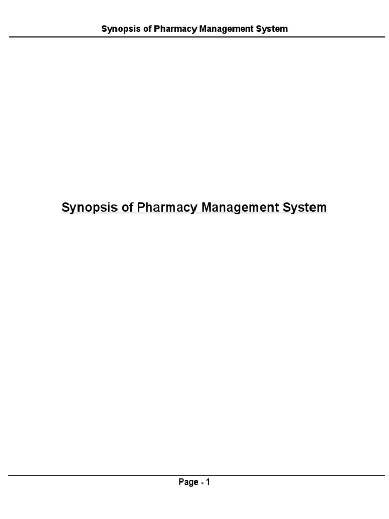 Synopsis of pharmacy management system modelviewcontroller synopsis of pharmacy management system modelviewcontroller databases ccuart Gallery