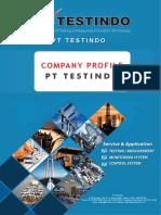 Company Profile PT Testindo