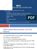 Unit 2 - ARM7 Based Microcontroller