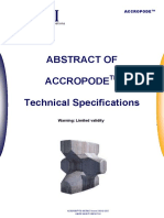 Accropode Tech Spec 2015