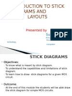 Basics of Stick Diagrams and layouts