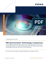 Whitepaper NIR Spectrometer Technology Comparison PDF