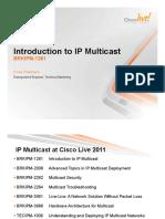 Introduction to IP Multicast (2011 Las Vegas)