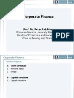 Corporate Finance (Lecture)
