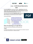 Graph Theory - GATE Study Material in PDF