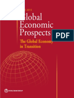 Global Economic Prospects June 2015 Global Economy in Transition