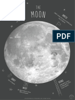 Mrprintables Map of the Moon Poster a4