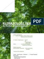 Klimatologi Pertanian