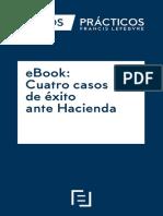 eBook Cuatro Casos de Exito Ante Hacienda