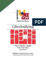Ciberbullying - Víctor Sánchez Aguilar