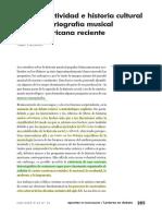 Palomino (2009). Sobre Creatividad e Historia Cultural en La Historiografía Musical Latinoamericana Reciente_103085