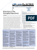 Emergency Medicine Practice MTBI Article With CME