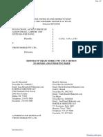 Chang et al v. Virgin Mobile USA LLC et al - Document No. 27