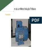 Rebobinagem de um motor de indução