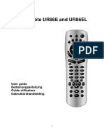 UR86E(L) PC Remote Manual 4 Languages