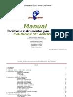 Manual Con Herramientas Para La Evaluaci