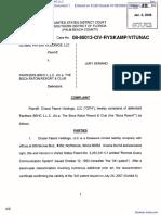 Global Patent Holdings, LLC v. Panthers BRHC LLC - Document No. 1