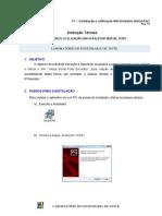 Instrução Técnica - Instalação e Utilização SW Emulator Serial Port