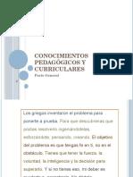 Teorias Pedagogicas en La Escuela 2014