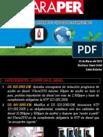 2012 Combustibles Araper