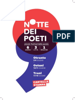 Notte Dei Poeti Festival Salento