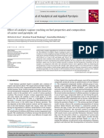 JAAP Paper Catalytic Vapour Cracking of Castor Seed Pyrolytic Vapour