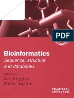 D. Higgins, Willie Taylor Bioinformatics Sequence, Structure and Databanks.pdf