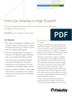 From Low Volatility to High Growth