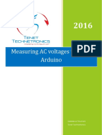 Measuring AC Voltage Through Arduino