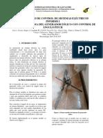 Planta Aerogenedor Con Control de Ángulo Pitch