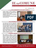 Notizie Dal Comune di Borgomanero del 22 Dicembre 2016