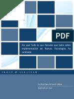 Implementacion de Nuevas Tecnologias Whitepaperfrostsullivan_spanish