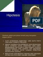 Hypothesis Penelitian
