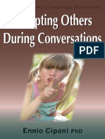 Interrupting Others During Conversations
