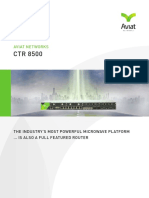 CTR 8500 - Platform Brochure - March 2014