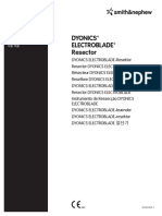 7209855 Dyonics Electroblade Resector