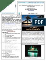 Carrabelle Chamber of Commerce E-Newletter for December the 23rd