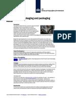EU Legislation Packaging and Packaging Waste