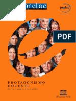 protagonismo docente en el cambio educativo - PRELAC.pdf