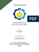 DSM Extraction dan Orthorectification