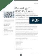 Procera DS PacketLogic8000 Platform