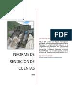 Rendicion de Cuentas 2015