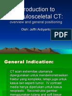 Musculosceletal CT