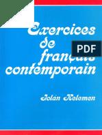Kelemen Jolán - Exercices de francais contemporain.pdf