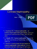 Contrast Nephropathy