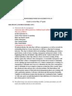classroom behavior management plan  1