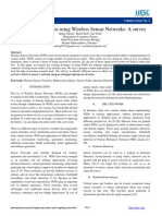 Military Applications Using Wireless Sensor Networks a Survey