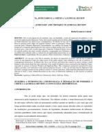 Democracia Judiciario Critica Cabral