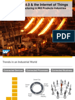Sap Iot Connected Manufacturing Mill Products
